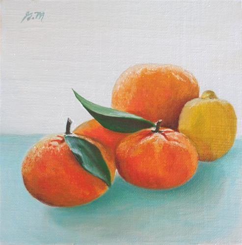 """Fresh Picked"" - Original Fine Art for Sale - © Gretchen Matta"
