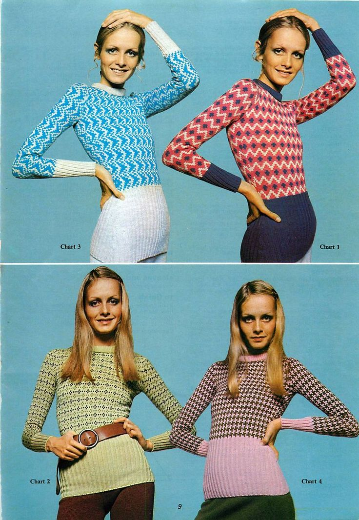 34 best 1950s and 1960s Vintage Knitting Patterns PDFs to download ...
