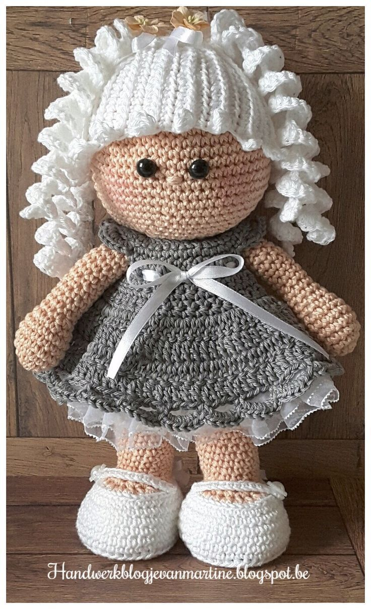Free Crochet Amigurumi Doll Pattern (A Basic Crochet Doll Pattern ... | 1208x736