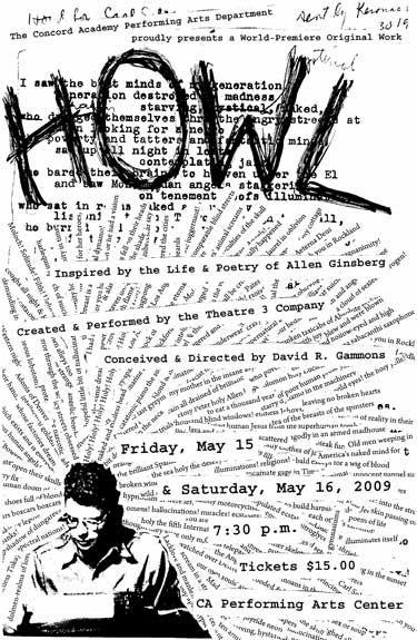 Allen Ginsberg, Howl. Loved it!