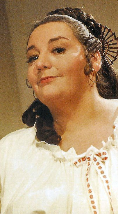 Hattie Jacques in Carry On Abroad