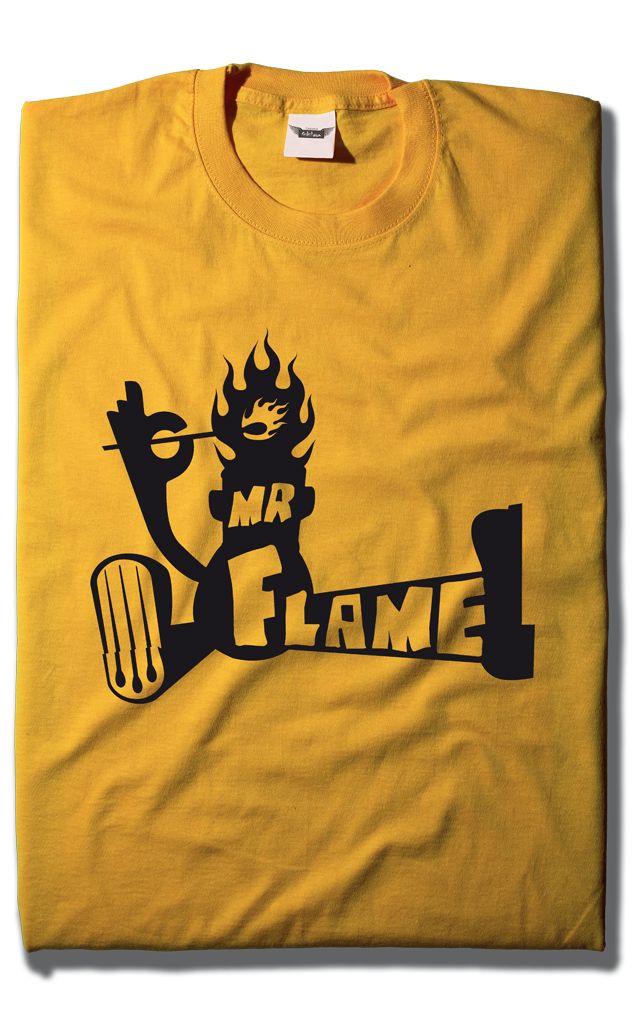 Camiseta Mr Flame