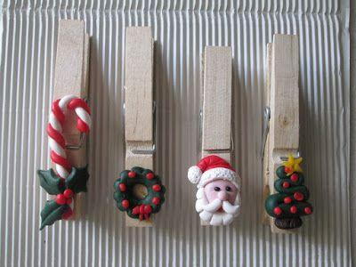 STELLEDILATTA: Mollette chiudi-pacco natalizie 2