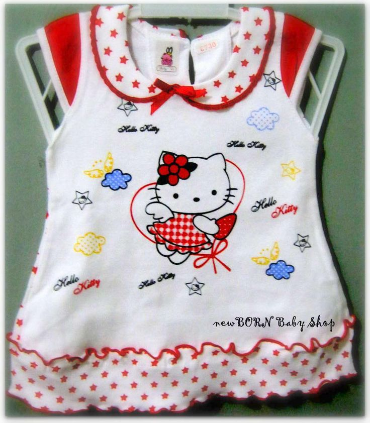 Baby Dress 'Hello Kitty' for baby girl 0-6 month.