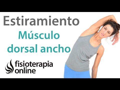 Músculo dorsal ancho, estiramento. | Fisioterapia Online