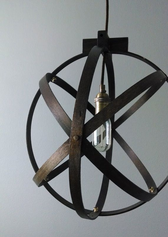18 inch Modern Spherical Light/ Entryway Light/ by BlueOxHome