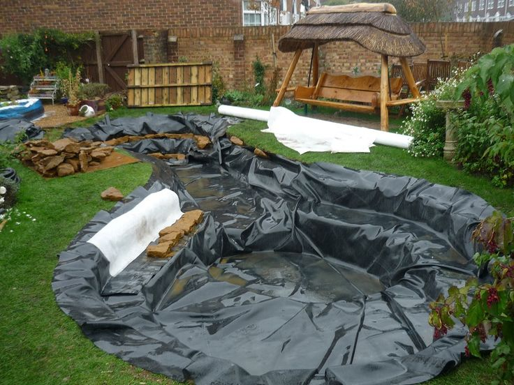 1000 images about water on pinterest backyard ponds for Best koi pond liner