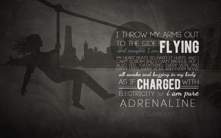 Divergent Zipline Scene Quote Zipline Adrenaline -Be...