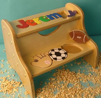 33 best kids step stools images on pinterest step stools sports puzzle name two step stool also available in white for personalized puzzlespersonalized giftspuzzle piecesstep stoolsbaby negle Image collections