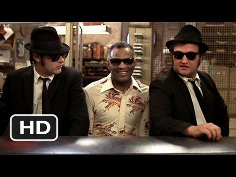 """RAY CHARLES / SHAKE A TAIL FEATHER - BLUES BROTHERS (1980) -- Check out the """"I ♥♥♥ the 80s!! (part 2)"""" YouTube Playlist --> http://www.youtube.com/playlist?list=PLBADA73C441065BD6 #1980s #80s"""