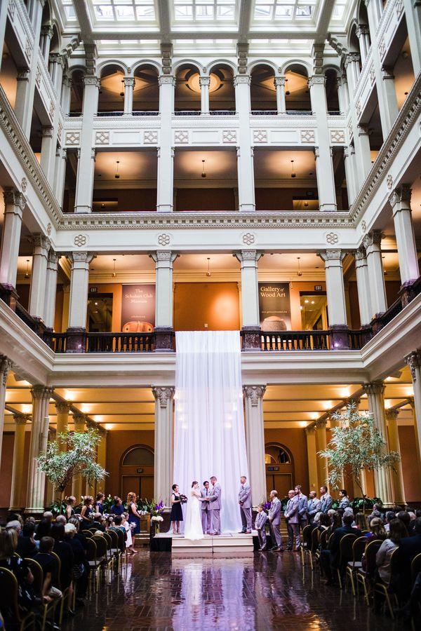 Bridget Jon Wedding At The Historic Landmark Center St Paul Mn