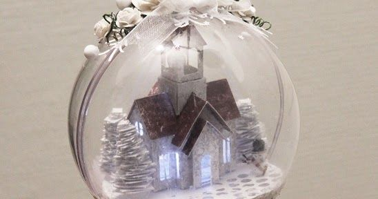 Hobbykunst has got some fantastic acrylic ornaments from Rayher . I always keep a lot of these, and make at least one before Christmas ev...