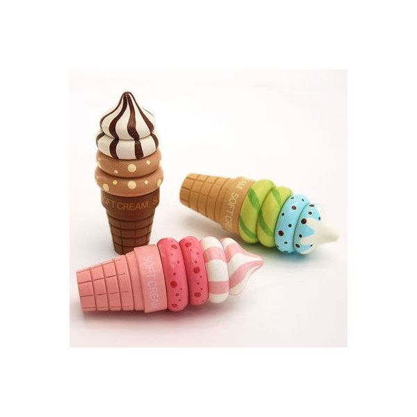 【サイズ】径5×高さ12.5cm【主素材】木製【対象年齢】3歳以上※ソフトクリームとコーンは磁石で付いています。