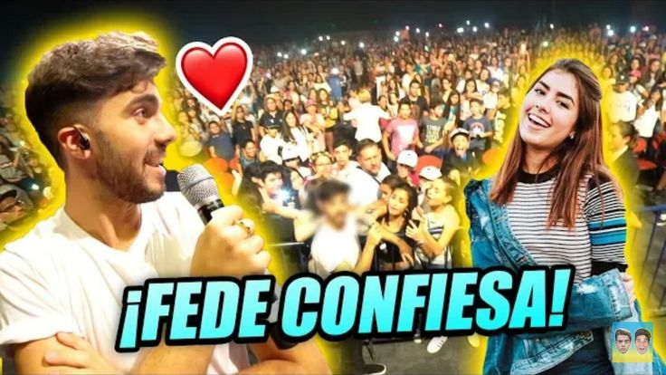 FEDE SE CONFIESA CON FEDECOLE FRENTE 1000 PERSONAS!!