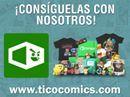 ¡Desde ya puedes conseguir las cajas coleccionables de 1Up Box con Tico Cómics!  Las cajas que están por venir las puedes ver en www.ticocomics.com/1up-box cada una de ellas con un precio de ₡26.000.