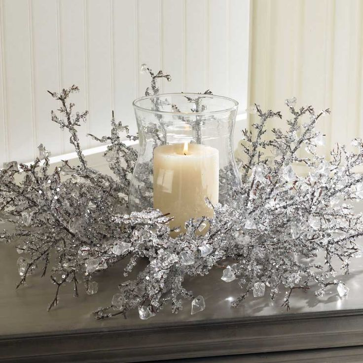 Google Images Christmas Table Decorations: Diy Winter Wonderland Centerpieces