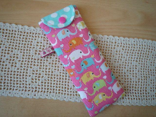 """Tasche passend für den Tiptoi-Stift, """"Elefant"""" von Lisas Geschenkfundgrube auf DaWanda.com"""