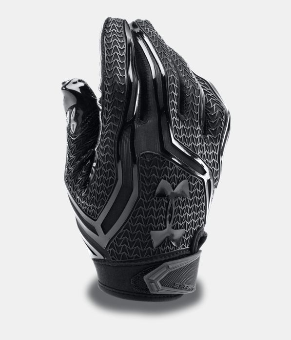 Men's UA Swarm II Football Gloves, Black