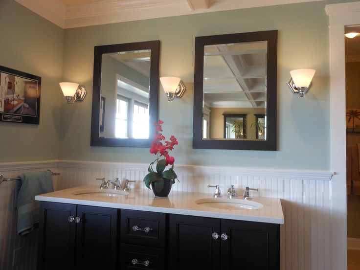 Sherwin Williams Quietude Bath Walls