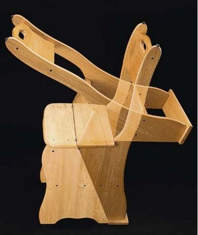 Стул-стремянка своими руками (фото, чертежи)