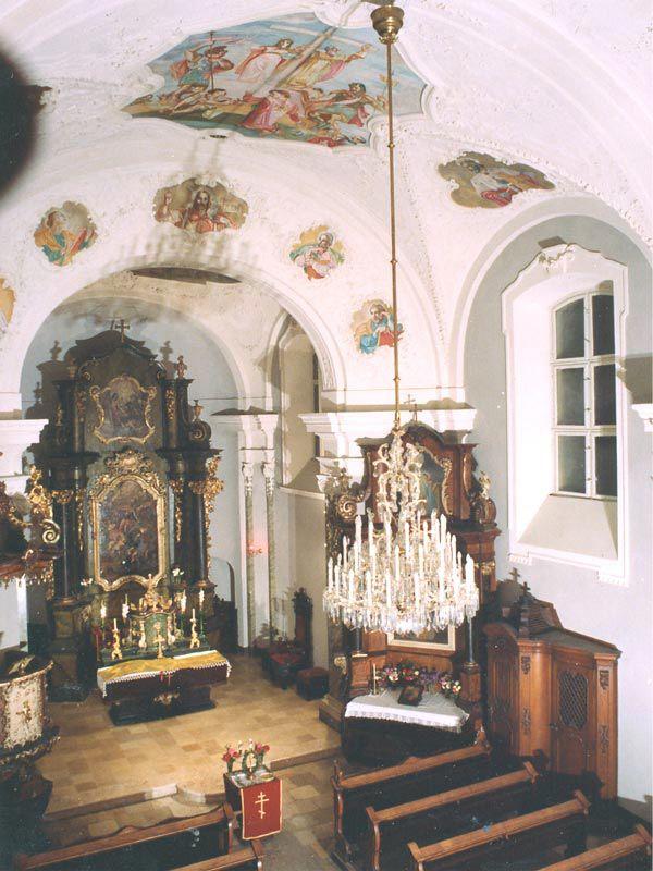 Florian Chapel - painter: Jenő Medveczky