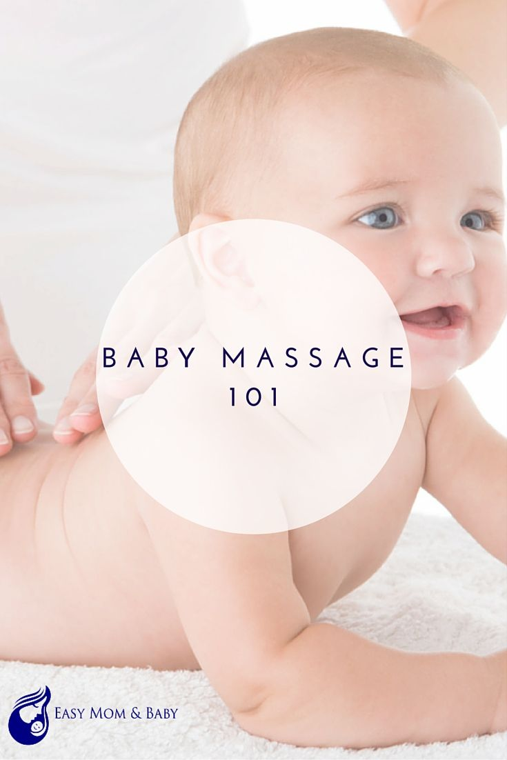 Baby Massage 101. One of the most natural ways to comfort your baby in times of distress or before bedtime is by giving them a massage. Not to mention the fact it's free and parents need all the breaks they can get in that department, right? Learning the right way to give your little one a massage can mean more nights of peaceful sleep and days without tears for both baby and mommy.