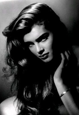 Brooke Shields has one of the most beautiful faces  ever seen documented on the screen. Even the famous photographer George Hurrell came out of retirement to photograph her. Photo For Tatler Magazine