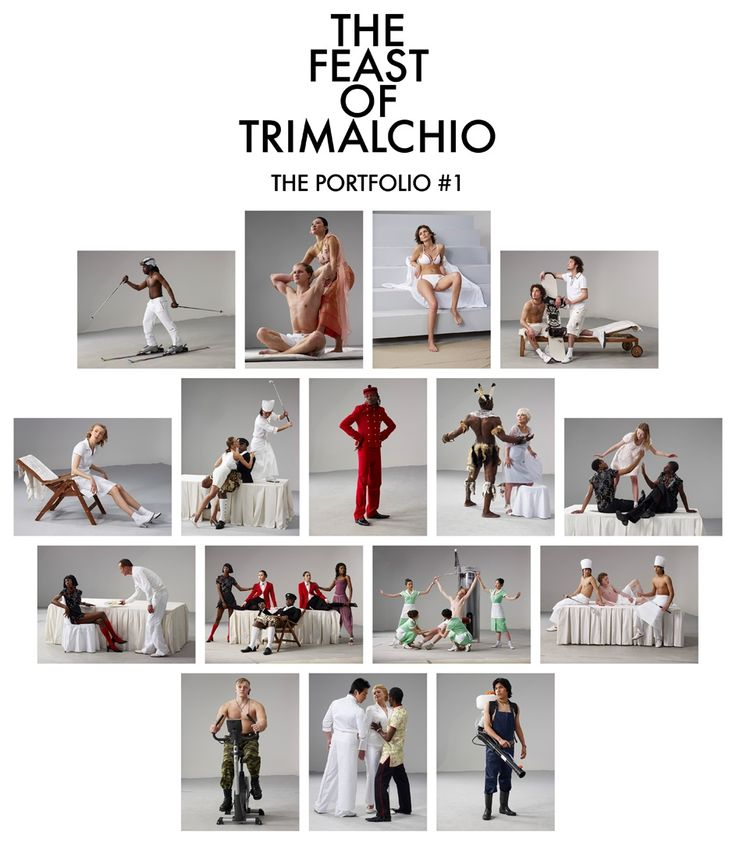 The Feast of Trimalchio, Portfolio #1