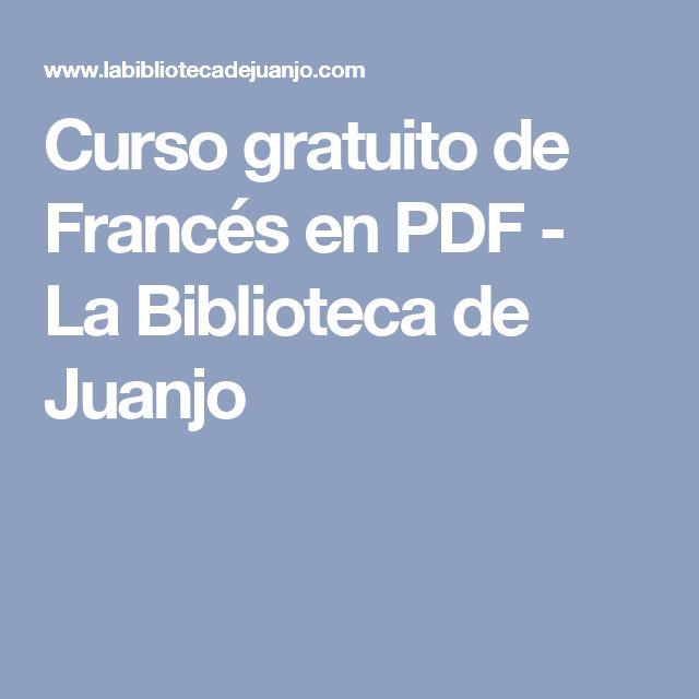 Curso gratuito de Francés en PDF - La Biblioteca de Juanjo