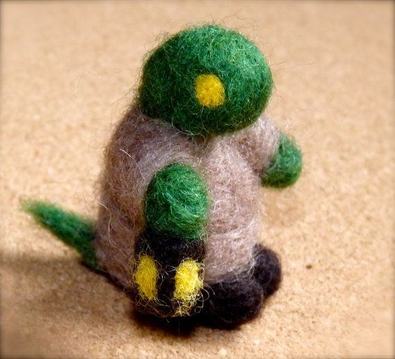 felted tonberry final fantasy by WoodlandFeltCrafts on Etsy, €15.00