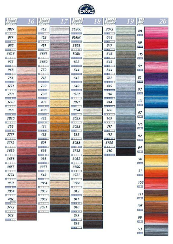 Actualisation avec les fils Color Variations et les nouveaux fils Coloris Un article qui vous intéressera si vous voulez connaître...