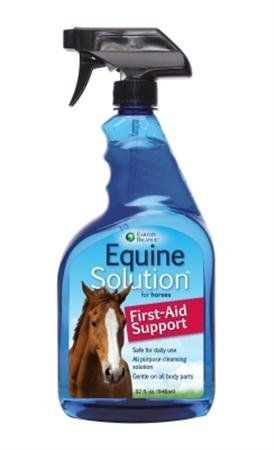 Horse & Riding Equine Solution First Aid Spry by Marshall Pet Products. $33.95. Length: 3. Width: 4.25. Height: 11. Equine Solution First Aid Spry