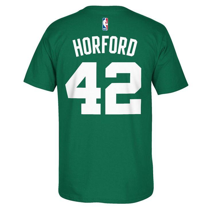 Men's Adidas Boston Celtics Al Horford Player Tee, Size: Medium, Green