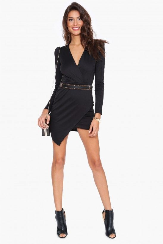 Girls Night Dress in Black | Necessary Clothing