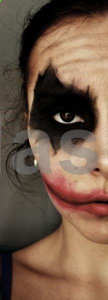 Joker face II. www.makeupbee.com... #latex #sexy #ladies #women #latexskirt #latexdominate #latexboss #shiny #fashion #latexshopping #buylatex #skirts