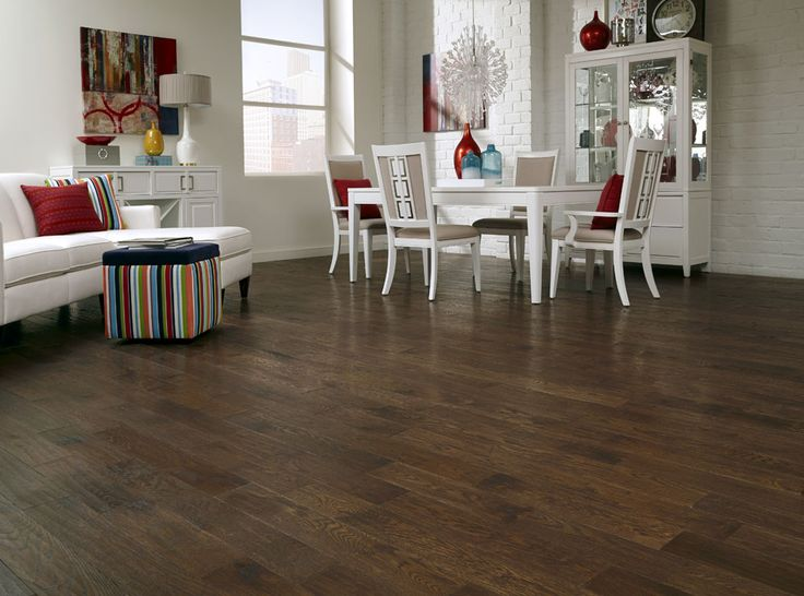 Mountain Oak Is A 5 Quot Wide Distressed Hardwood With Lots Of