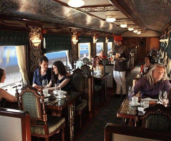 Maharajas Express Train Mayur Mahal Restaurant