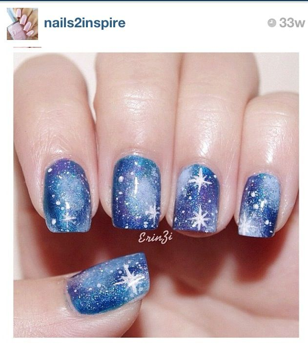 Nail art! Turn one of those nails into a TARDIS, and they could be Doctor Who nails!