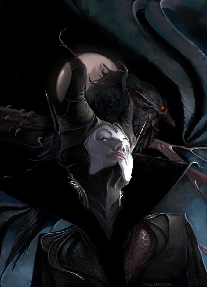 Maleficent...so evilSleep Beautiful, Artists, Maleficent, Fantasy Art, Evil Queens, Disney Villains, Illustration Art, Kelley Harry, Fairies Tales