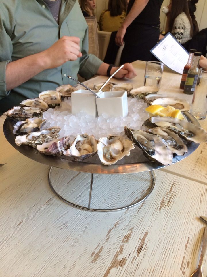 EAT: GT Fish and Oyster. This place is great for brunch and does take reservations. Who doesn't like oysters with their brunch?!