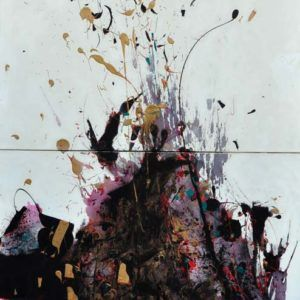 Capulet Art Gallery - Raymond Chow - Grand Piano Explosion - 40x80