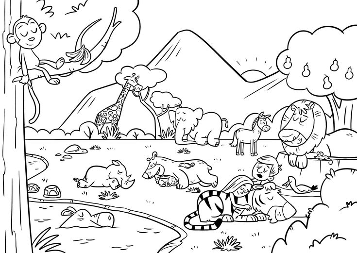 New Heaven And Earth Coloring Page Sketch Coloring Page