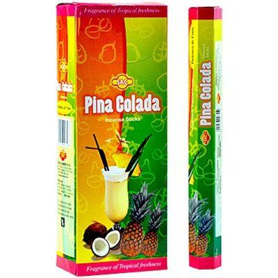 Η SAC προσφέρει μια πολύ μεγάλη επιλογή σε στικάκια από την Ινδία . Αυτά είναι διαθέσιμα σε συσκευασίες των 20 κομματιών. Η Pina Colada είναι μέρος της κλασικής σειράς.