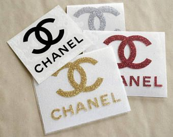 Chanel Iron On Decal Cc Iron On Patch Coco Chanel