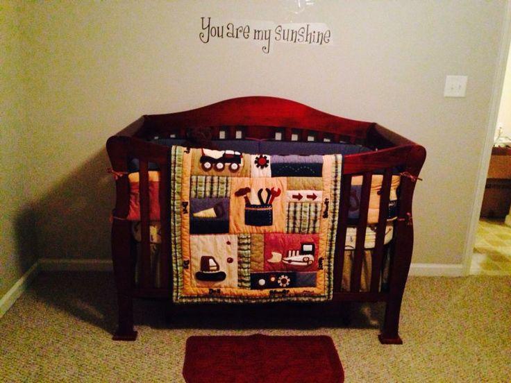 Eddie Bauer Little Builder Crib Bedding Parker S