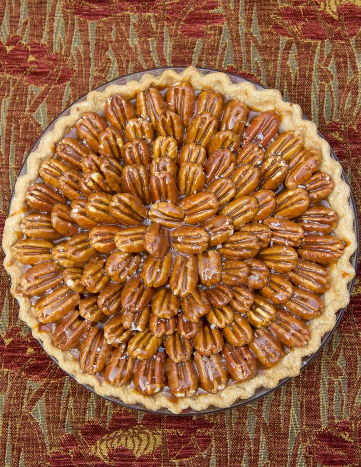 Salted Carmel Chocolate Pecan Pie | Sweets | Pinterest