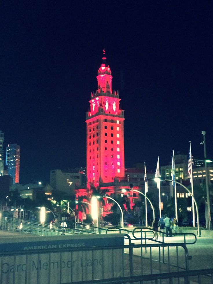 Last night view from American Airlines Arena (Juan Gabriel concert)