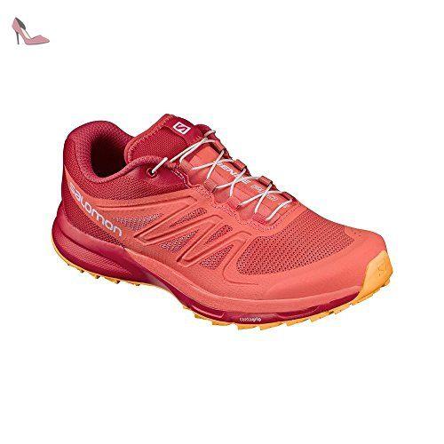 Salomon Sense Pro 2 W, Sneakers trail-running femme - orange - Orange (
