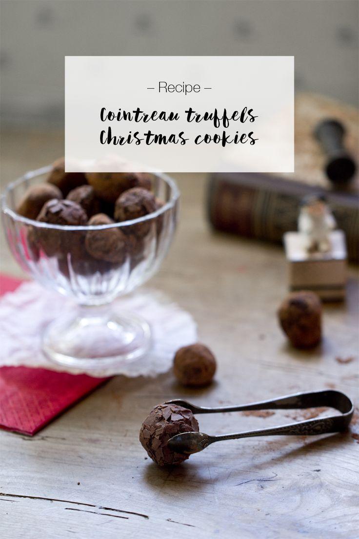 Cointreau truffles recipe.  LOOK WHAT I MADE ...