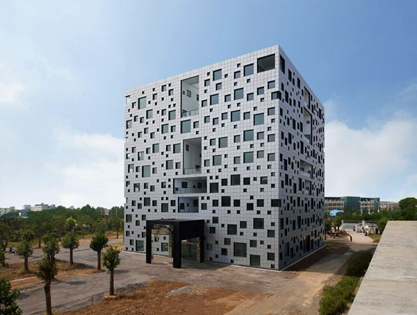 Cube Tube by Sako ArchitectsOffices Buildings, Cubes Tube, Japan, Sako Architects, Design Interiors, Architecture, Construction, Restaurants, China